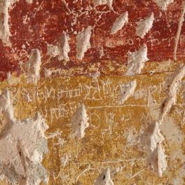 crkva-sv-katarine_freske-grafiti_glagoljica
