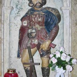 crkva-sv-roka_drveni-kip-sveca